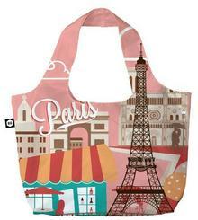 BG Berlin Eco Bags Eco torba na zakupy 3w1  BG001/01/134 wielokolorowy 0 - 1 kg