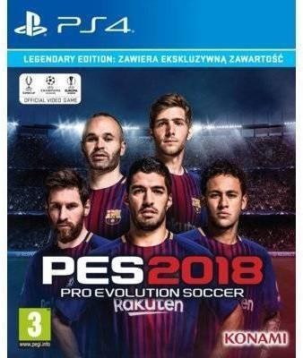 Pro Evolution Soccer 2018 Edycja Legendarna PS4