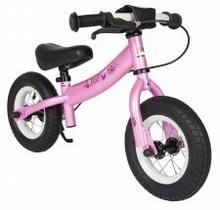 "BikeStar Rowerek biegowy 10"" NISKI sport pink 229531271"