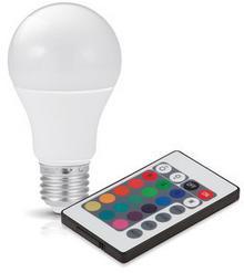 Kobi Żarówka LED E27 GS 7,5W barwa RGB + BIAŁA KAGSE2775RGB KAGSE2775RGB