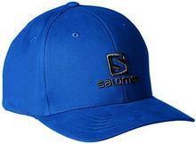 Salomon logo Cap, dla mężczyzn, dla mężczyzn, logo, niebieskie (Surf The Web) L39328200