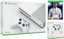 Microsoft Xbox One S 500GB Biały + FIFA 18 + 2 Pady