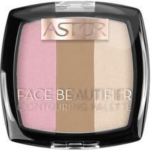 Astor Paletka do konturowania Beautifier Face Contouring Palette 002 Medium