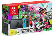 Nintendo Switch Niebiesko-Czerwony + Splatoon 2