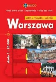Euro Pilot Warszawa. Plan miasta i okolic. 1:20 000. - Praca zbiorowa