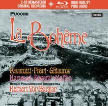Puccini La Boheme CD + Blu-ray Audio) Luciano Pavarotti
