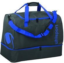 Uhlsport Essential 2.0 Players Bag 50L torba sportowa, 53 cm, 50 L, antracyt/azur Niebieski 100425502