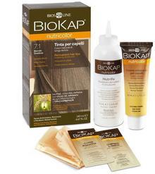 Bios Line S.P.A. BIOKAP NUTRICOLOR 7.1 Szwedzki Blond 140ml