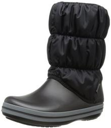 crocs Crocs zimowy Puff Boot Women trzewiki zimowe damski -  czarny -  42/43 EU B01NCQVMYV
