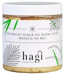 HAGI COSMETICS Naturalny scrub do dłoni i stóp z roślinną lanoliną 330ml Hagi