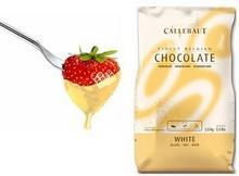 Callebaut Czekolada biała do fondue oraz fontann   2,5 kg LBIA25