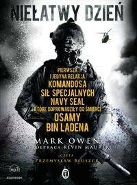 Wydawnictwo Literackie Niełatwy dzień (audiobook CD) - Mark Owen