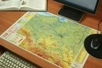 praca zbiorowa Polska. Mapa podręczna A2 MERID-022
