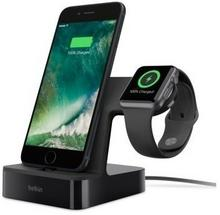 Belkin ŁADOWARKA POWERHOUSE CHARGE DOCK APPLE WATCH + IPHONE, CZARNA F8J200vfBLK