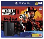 Sony PlayStation 4 Pro 1TB Czarny + Red Dead Redemption 2