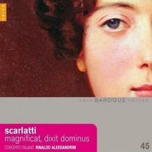 Scarlatti Magnificat Dixit Dominus CD) Rinaldo Alessandrini