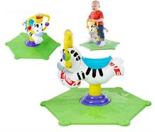 Fisher Price FISHER PRICE skoczek bujak Zebra rodeo Zielony K0317