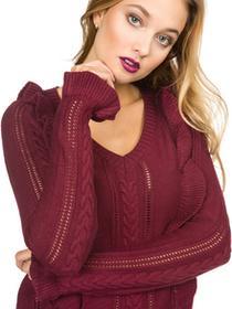 Vero Moda Anaheim Sweater Czerwony S (190158)