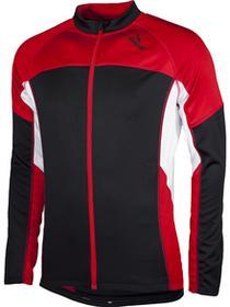 Rogelli Bluza Recco czarny-czerwony / Rozmiar: L
