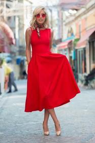Sukienka MONICA RED 005003-28