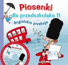 Skrzat Angielskie przeboje, Piosenki dla przedszkolaka 11 + CD - Agnieszka Kłos-Milewska