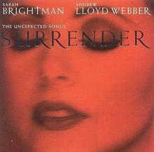 Surrender CD Sarah Brightman Andrew Lloyd Webber