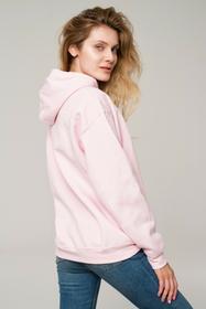 Lifestab Bluza Box Logo Hoodie Powder Pink