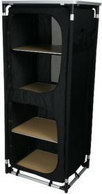 10T Outdoor Equipment System wtykowy 10T cambox Quattroszafka kempingowa 4kieszenie + Top miejsce do przechowywania różnych rzeczy aluminiowe 48x 59x 140cm 760216
