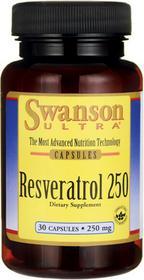 SWANSON Resweratrol 250 mg 30 kapsułek