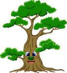 Oklejaj Naklejka dla dzieci - Drzewo