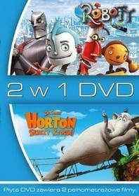 20th Century Fox 2 w 1 Horton słyszy Ktosia Roboty DVD) Jimmy Hayward Steve Martino Carlos Saldanha