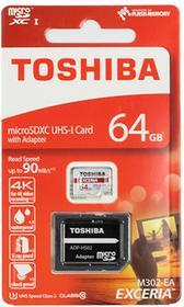 Toshiba MicroSDHC Exceria M302 64GB