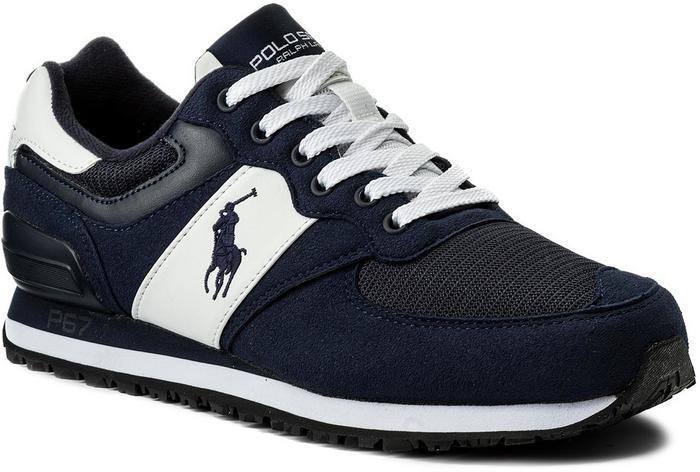a86a4e8be56 Polo Ralph Lauren Sneakersy Salton Pony 809580124002 Blue - Ceny i opinie  na Skapiec.pl