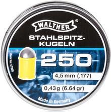 Walther NIEMCY śrut 4,5 mm HIGH-POWER półokrągły w polimerowym płaszczu 250 szt. (4.1968) 4.1968