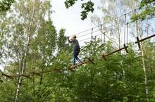 Park linowy dla dwojga - przygoda na wysokości - Wrocław