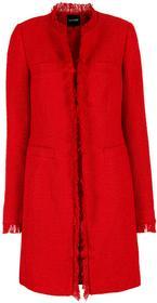 Bonprix Płaszcz boucle czerwony