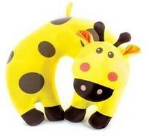 Spokey Poduszka zagłówek BAMBINI dziecięca poduszka Żyrafa
