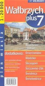Demart Wałbrzych - plan miasta (skala 1:20 000) - Demart