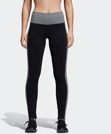 Adidas SPODNIE Believe This High-Rise Heathered Tights W Czarny CV8426