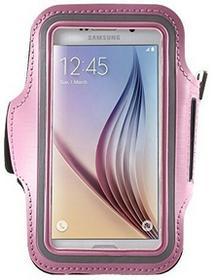 bagmaxx Samsung Galaxy S7S6S6Edge sportowa opaska na ramię do biegania etui futerał na telefon komórkowy klettverscluss Pink DP_7319