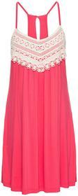 Bonprix Sukienka letnia czerwony