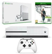 Microsoft Xbox One S 500 GB + Quantum Break biały