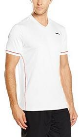 HEAD Głowa dla mężczyzn Chase dekoltem w szpic T-Shirt, biały, s 811276sml white