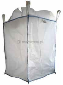 Worek wielkogabarytowy BIG BAG 14. 4 uchwyty, wym. 900x900x1200mm