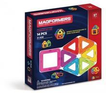 Magformers 14 elementów klocki magnetyczne