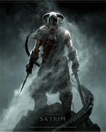 Gaya Entertainment Plakat The Elder Scrolls V: Skyrim Dragonborn