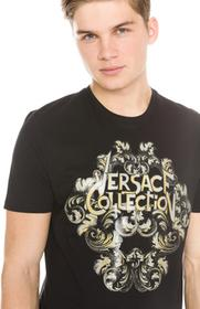 Versace Collection Collection T-shirt Czarny L (179785)