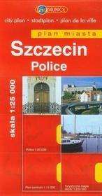 Daunpol Szczecin Police plan miasta 1:25 000 - Daunpol