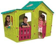 Keter Domek dla dzieci Magic Villa House Kremowo/Jasnozielony 231595 231595