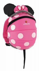 LittleLife Plecaczek Disney 1-3L Myszka Minnie Pink 3214-uniw